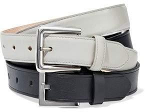 Maison Margiela Two-Tone Leather Double Belt