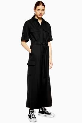98261fce368 Topshop Womens   Utility Jumpsuit By Boutique - Black