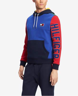 Tommy Hilfiger Men's Colorblocked Logo Hoodie