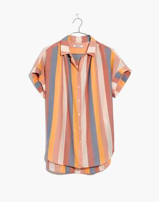 Madewell Central Shirt in Sherbet Stripe