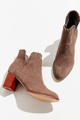 Urban Outfitters Sasha Whip Stitch Suede Ankle Boot