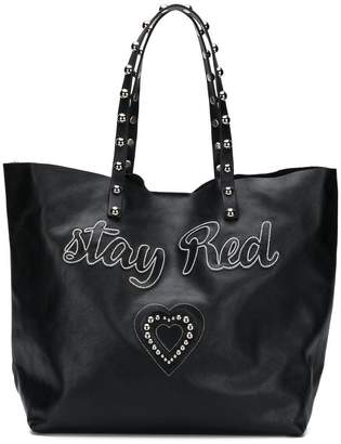 RED Valentino RED(V) Stay Red tote bag