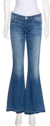 Current/Elliott The Low Bell Flare Low-Rise Jeans w/ Tags