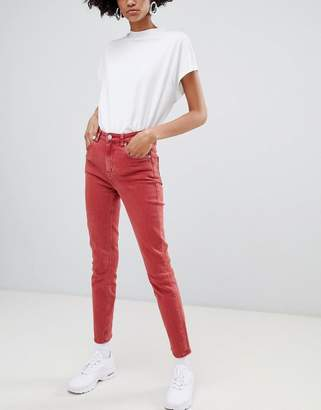 Weekday Way High Waist Skinny Jeans in Organic Cotton