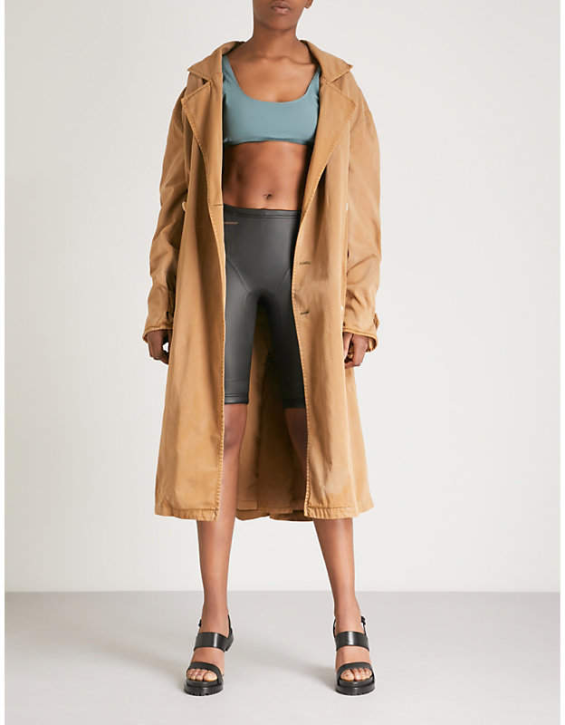 Season 6 cotton-blend trench coat