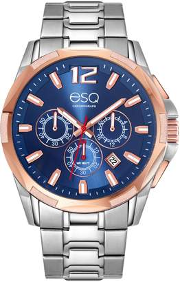 ESQ Swiss Men's Two-Tone Stainless Steel ChronographWatch