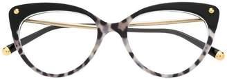 Dolce & Gabbana Eyewear cat-eye shaped glasses