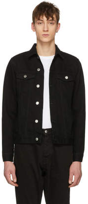 Han Kjobenhavn Black Denim Base Jacket