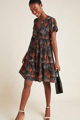 Maeve Tania Tiered Tunic Dress