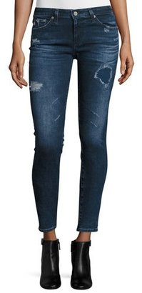 AG The Legging Ankle 8 Years Whistler Jeans, Blue $255 thestylecure.com