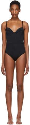 Proenza Schouler Black Undewire Lingerie Swimsuit