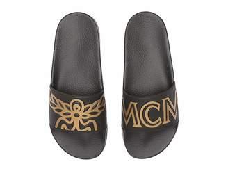 MCM Logo Rubber Slide Sandal