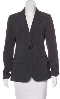 Neiman Marcus Structured Peak-Lapel Blazer