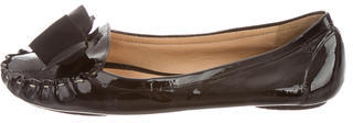 Kate SpadeKate Spade New York Patent Round-Toe Flats