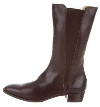 Gravati Leather Mid-Calf Boots