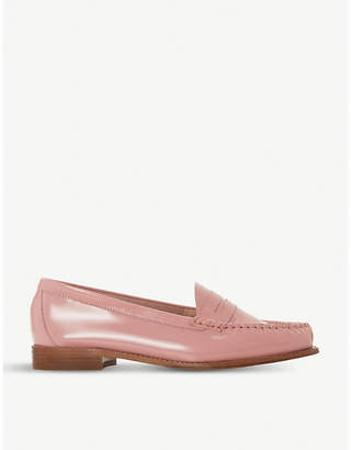 Dune Glossy patent leather loafers