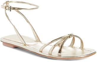 Prada Flat Halo Strap Sandal