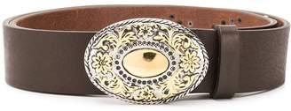 Eleventy embellished plaque belt