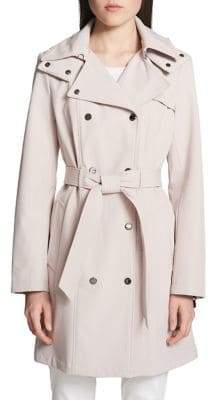 Calvin Klein Classic Hooded Trench Coat