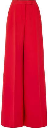 Antonio Berardi Wool-blend Crepe Wide-leg Pants