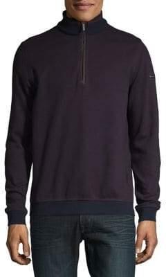 Bugatti Quarter-Zip Pullover Sweater