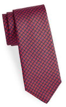Saks Fifth Avenue Link Silk Tie