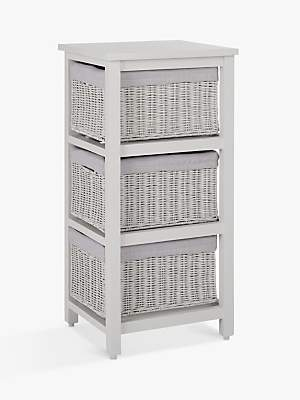 Laundry by Shelli Segal Croft Collection Blakeney 3 Drawer Unit, Grey