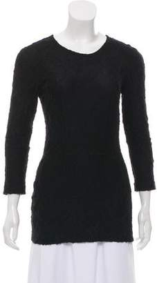 Burberry Lace Long Sleeve Top