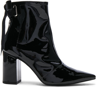 Self-Portrait x Robert Clergerie Patent Leather Karli Boots