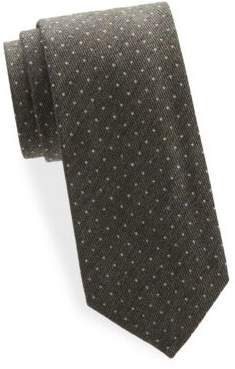 Tom Ford Dot-Print Silk Tie