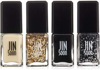 JINsoon JIN Soon Tout Ensemble Gift Set: 4x Nail Lacquer (Georgette Bijou Chamonix Motif) - 4x 11ml/0.37oz