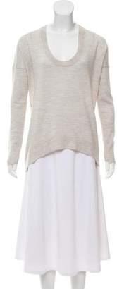 Zadig & Voltaire Merino Wool High-Low Sweater
