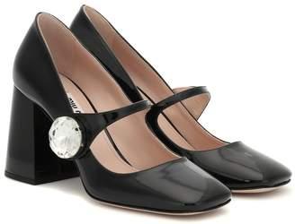 Miu Miu Patent leather Mary Jane pumps