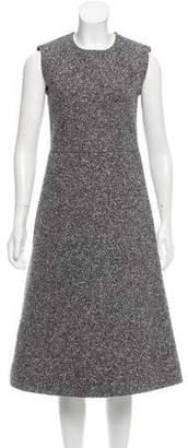 Celine Sleeveless Bouclé Dress