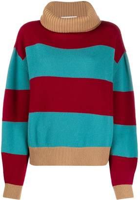 Societe Anonyme Lili block stripe jumper