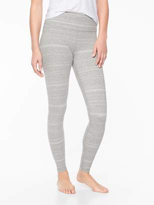 Athleta Organic Cotton Meditation Daybreak Stripe Tight