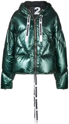 Khrisjoy metallic padded jacket