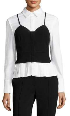 Yigal Azrouel Layered Bustier Blouse