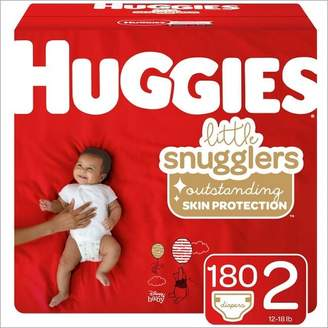 Huggies Little Snugglers Diapers Economy Plus Pack (Select Size)