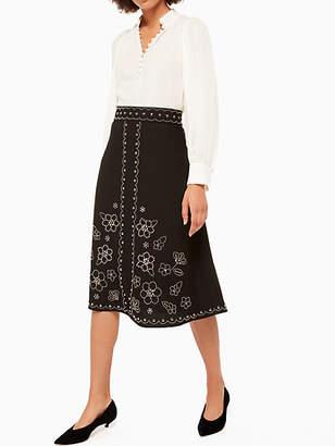 Kate Spade Blaine Skirt, Black - Size 00