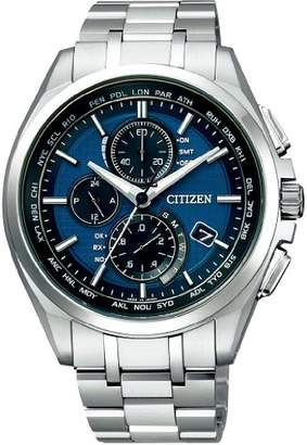 Atessa (アテッサ) - [シチズン]CITIZEN 腕時計 ATTESA アテッサ Eco-Drive エコ・ドライブ 電波時計 ダイレクトフライト 針表示式 薄型 AT8040-57L メンズ