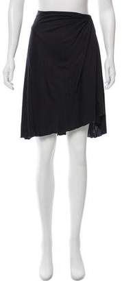 Valentino Silk Knee-Length Skirt