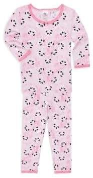 Esme Toddler's, Little Girl's& Girl's Print Pajama Top& Pants Set