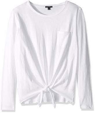 J.Crew Mercantile Women's Long-Sleeve Tie Waist T-Shirt, M