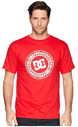 DC Men's Letterstress Short Sleeve