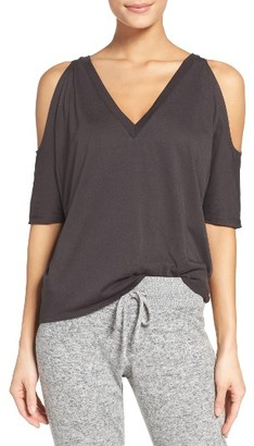 Women's Chaser Cold Shoulder Tee $52 thestylecure.com