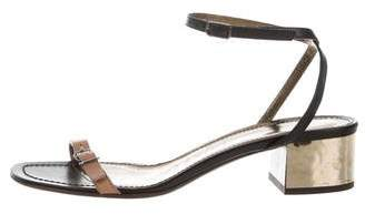 Lanvin Buckle Ankle Strap Sandals