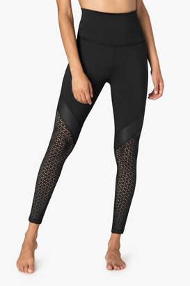 Beyond Yoga Black Angles Leggings