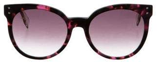 Fendi Marbled Cat-Eye Sunglasses w/ Tags
