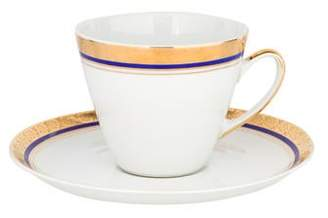 11-Piece Vintage Cups & Saucers Set